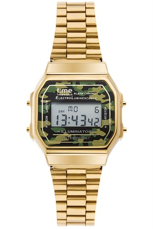 Time Watch TW.124.4GFG Unisex Retro Kol Saati