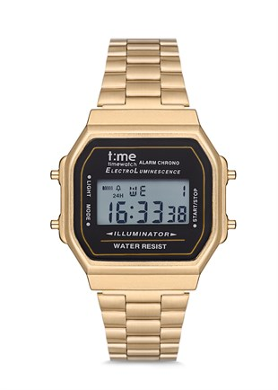 Time Watch TW.124.2GBG Unisex Retro Kol Saati